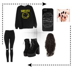 """""""#Rock"""" by tira-bianca on Polyvore featuring Chicnova Fashion and Topshop"""