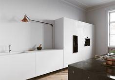 Minimalist kitchen Interior visualisations by Tomek Michalski