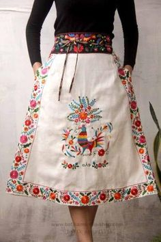 Mexican embroidery by iva More
