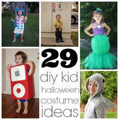 29 Homemade Kids Halloween Costume Ideas