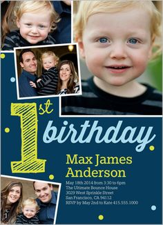 It's My First Boy 5x7 Photo Card by Shutterfly