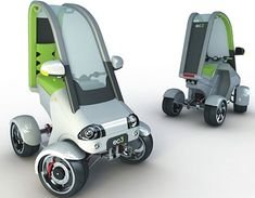 Quad Bike, Urban Quad Bike, Electric Quads, Electric Vehicles, Future Car, Future Auto, Future Vehicle