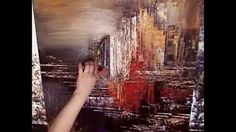 The Making of an Abstract Painting by Tatiana Iliina