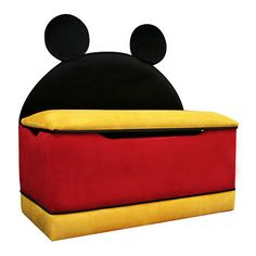 Disney Mickey Mouse Icon Toy Box  - Harmony Kids -  Furniture - FAO Schwarz®