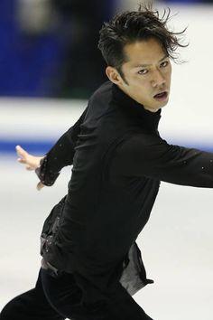 Daisuke Takahashi   NHK杯・男子SP | フィギュアスケート | 実況 | スポーツナビ