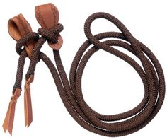 Cord Roping Reins with Slobber Straps | ChickSaddlery.com