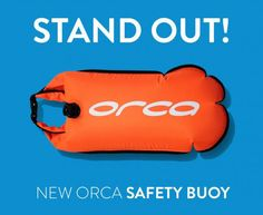 Front image of Orca's 2015 Safety Buoy