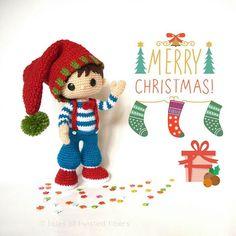 Wish you all a wonderful Christmas and an amazing New Year.  #amigurumi #crochet #Christmas #Holidays #crochetdolls #choppy #twistedfibers #talesoftwistedfibers