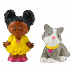 Amazon.com: Fisher-Price Little People - Tessa & Kitty: Toys & Games