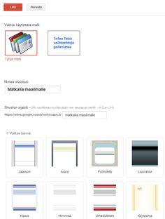 Sivustot - Googletuki