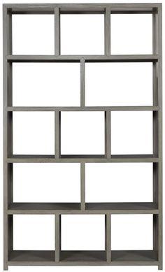Vanguard Furniture: 8323BC   Plato (Bookcase) Langdon Finish.