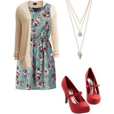 Sunday best September 6 by mormon-girl-fashion on Polyvore featuring мода, VILA and With Love From CA