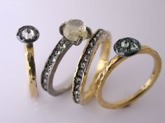 Todd Pownell Jewellery great rings to wear all spring and summer #fashion