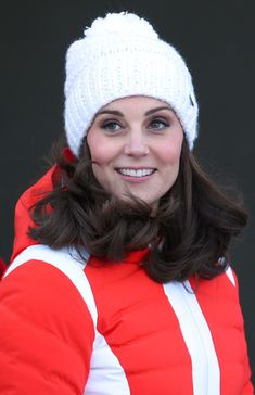Kate Middleton Photos - Catherine, Duchess of Cambridge arrives at Holmenkollen ski jump, where she and Prince William, Duke of Cambridge, will take a short tour of the museum before ascending to the top of ski jump to talk with and observe junior ski jumpers from Norway's national team on day 4 of their visit to Sweden and Norway on February 2, 2018 in Oslo, Norway. - The Duke and Duchess of Cambridge Visit Sweden and Norway - Day 4