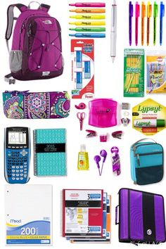 DIY Back to School Supplies for Teens