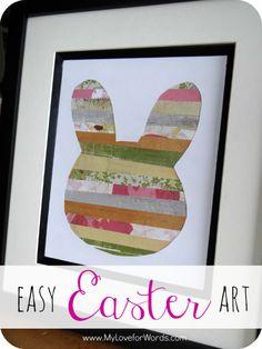 Easy Easter Art
