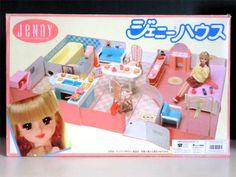 1/6ミニチュアでお人形遊びをするブログ - 1986年のジェニーハウス購入