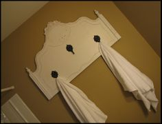 What a fun piece! It could be used in the bathroom, a closest, an entry way...