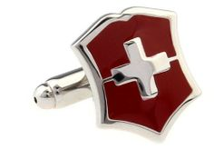 "Crusader Shield Cufflinks Cuff Links DGW Cufflinks. $28.88. Approximately 3/4"" x 1/2"". Comes packaged in a Limited Edition Collectors Storage Box!. Free Gift Wrapping with each order!"