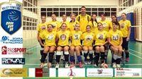 Scalda i motori la terza divisione femminile della Volley Fiumicino.