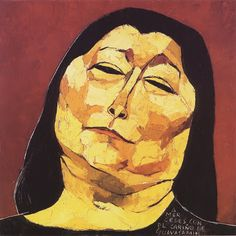 Mercedes Sosa by Oswaldo Guayasamin. If you don't know her music, look her up! Woman Painting, Painting & Drawing, Mercedes Sosa, Illustrations, Illustration Art, Portrait Art, Face Art, American Art, Modern Art