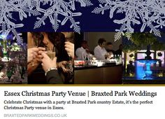 via Weddings at Braxted Park Only 260 days 'till Christmas! Eeek! So it's not too early to be thinking about your Christmas party. Whether you have 10 staff or 300, Braxted Park can cater for your Christmas party needs. Just take a look at our website or call 01621 892350 http://www.braxtedparkweddings.co.uk/christmas-parties/