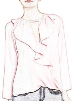 (Si te gusta te la regalamos con la tela que compres).http://www.aleko.kingeshop.com/Blusa-rosa-de-manga-larga-con-volante-dbaaaalsa.asp