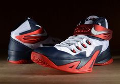 best service 1d68b decbc Nike Zoom Lebron Soldier 8 VIII 653641-114 Mens sIze 13 Basketball Sneaker  EUC