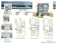 House Plan Home Design Coastal Cottage Beach Resort Al Investment Outer Banks Of