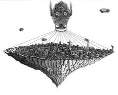 Dejvid K. | Soply | Hire Dejvid here: soply.com/Dejvid   Seattle Illustration  #illustrator #city #citylife #seattle #washington