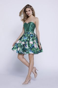Gorgeous Sexy Strapless Short Homecoming Dresses Formal Cocktail