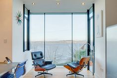 Contemporary renovation of a Victorian house in Wormit, overlooking the Firth of Tay in Fife by WT Architecture