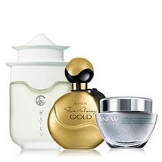 Women's Fragrance & Skincare Trio Two oriental fragrances to choose from for day, and a mask to replenish lost moisture while replumping the look of skin overnight. Plus 5 free samples of Anew Reversalist Complete Renewal Night Cream. A $76 value for $40.00. louisesmalley.avonrepresentative.com