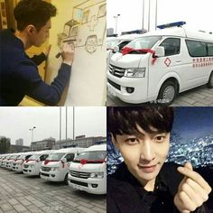 170110 [INFO] 10 ambulances donated by Yixing will be sent to various poor county hospitals + maternal child health centers after the donation ceremony. The donation ceremony was held in Changsha yesterday's afternoon, the organizers & representatives of the hospital attended the event • • ------------------------------ . .  #엑소사랑해 ♥ #EXO #EXOK #EXOL #EXOM #WEAREONE #엑소 #suho #chanyeol #sehun #kyungsoo #kai #baekhyun #kris #lay #tao #luhan #chen #xiumin #WuYiFan [FOREVER ONE, FOREVER EXO12]…