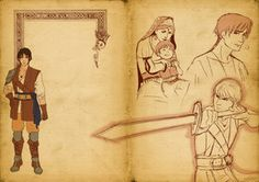 Jian Bel'Gan - artbook by uriko33