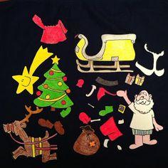 Il Calendario dell'avvento - Vestiamo Babbo Natale