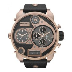 WHY IS THIS A MAN'S WATCH. And why are my wrists so small (Diesel Big Daddy Big Faced Chronograph Watch - Super Bad Ass Collection - £243.95)