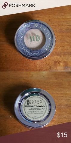 Urban Decay Eye shadow New With Box. Never used or opened. Color: Midnight Cowboy Urban Decay Makeup Eyeshadow