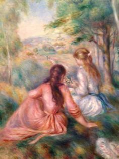 Renoir - In the meadow - MoMA, NYC