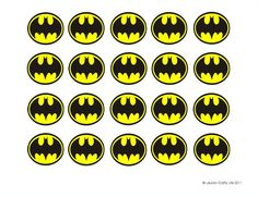 Batman Cupcake Liners (and a free printable) - Batman Party - Ideas of Batman Party - Batman Cupcake Liners (and a free printable) Laura's Crafty Life Lego Batman Birthday, Lego Batman Party, Superhero Birthday Party, Birthday Party Themes, Birthday Ideas, Batman Printables, Printable Batman Logo, Free Printable, Cupcake Toppers Free