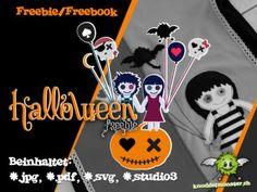 Halloween-Applikation von Knuddelmonster
