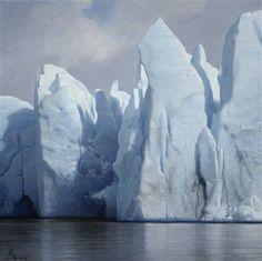 """GUILLERMO MUÑOZ VERA """"Glaciar Grey """""""