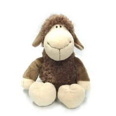 NICI Jolly mAh Brown Sheep Germany Plush Stuffed Animal Toy Doll Kids Gift for sale online Pet Toys, Doll Toys, Dolls, Cute Plush, Gifts For Kids, Sheep, Baby Gifts, Germany, Teddy Bear
