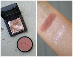 Review and swatches of KIKO products from their eyeshadows, eyeliners, lipliner and brushes.