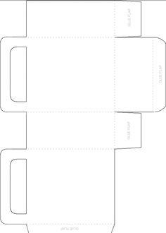 Blank Favor Bag Template - Free, Printable Crafts