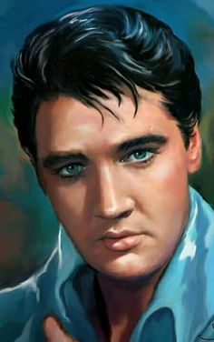 Elvis Presley art work by Sara Lynn Sanders King Elvis Presley, Graceland Elvis, Elvis Presley Pictures, Elvis Memorabilia, Lisa Marie Presley, Tarzan, Vintage Hollywood, Rock N Roll, Movie Stars