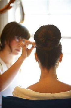 Hair, Makeup, Updo, Up-do, Fiore beauty Elegant Wedding Hair, Wedding Hair Flowers, Flowers In Hair, Wedding Gowns, Wedding Hairstyles For Long Hair, Formal Hairstyles, Bride Hairstyles, Wedding Hair And Makeup, Hair Makeup