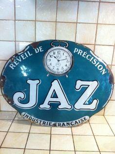 Ancienne Plaques Émaillée Jaz