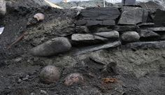 Archaeologists uncovered the foundations of a wooden church where the body of the Viking king Olaf Haraldsson may have been enshrined after he was declared a saint. Credit: Norwegian Institute for Cultural Heritage Research (NIKU); Distributed Under a Creative Commons License