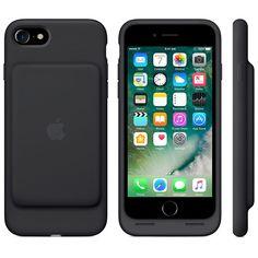 Apple / iPhone 7 / Smart Battery Case / Black / Case / 2016 Find it at best buy or the apple store Apple Iphone 6s Plus, Iphone 7 Plus Cases, Ipad Mini, Batterie Iphone, Apple Coque, Unicorn Iphone Case, Camera Photos, Accessoires Iphone, Coque Iphone 6